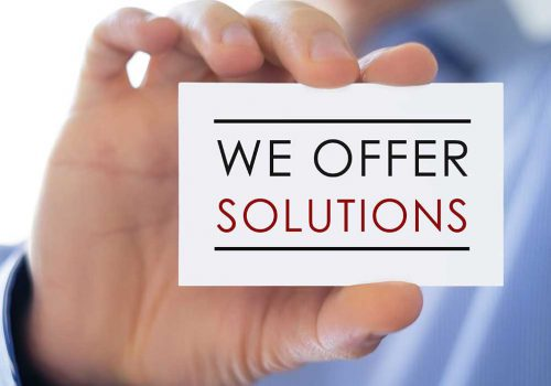 We Offer Solutions Card